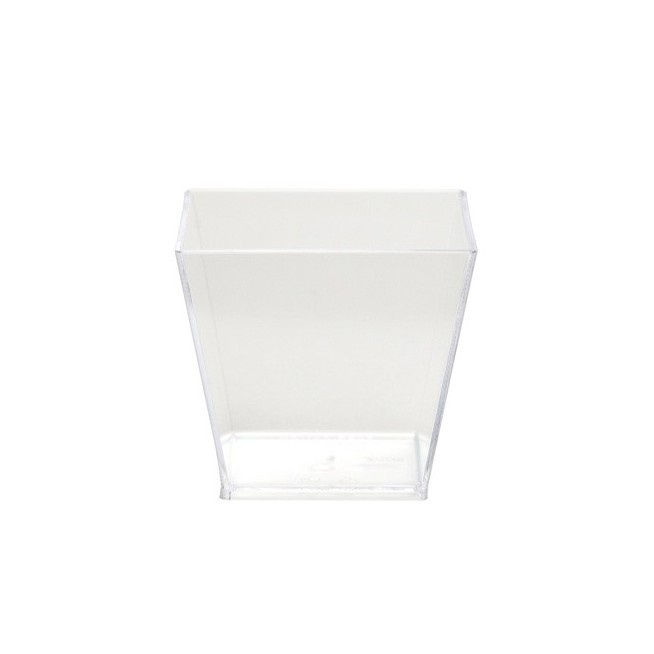 VERRINE CARRÉE CONIQUE 6 CL